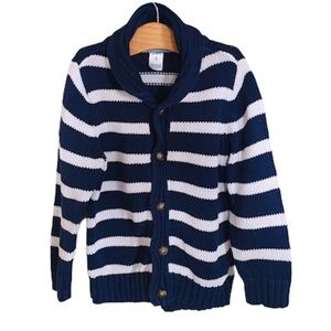 CARTERS. Navy. Button down. Cardigan/Sweater